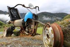 Scrap Franken-Bike Royalty Free Stock Images