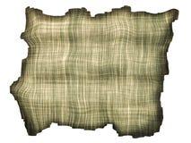Scrap of frayed fabric. stock illustration