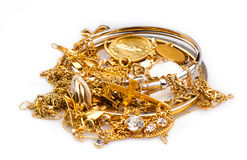 Scrap Gold Royalty Free Stock Photo