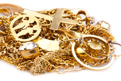 Scrap Gold Royalty Free Stock Image