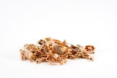Scrap gold Royalty Free Stock Photo