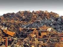 Scrap-heap Royalty Free Stock Photography