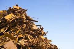 Scrap Heap Background Stock Images