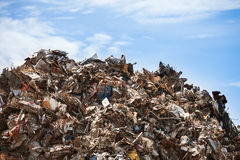 Scrap heap Stock Photography