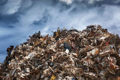 Scrap heap Stock Images