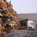 Scrap heap Royalty Free Stock Image