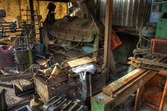 Scrap machinery Stock Photos