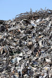 Scrap metal. Garbage dump of metal and iron Royalty Free Stock Photos