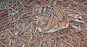 Scrap Metal. Stock Photos