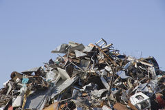 Scrap metal. Royalty Free Stock Image