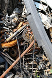Scrap metal Stock Image