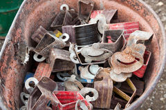 Scrap Metal Royalty Free Stock Photography
