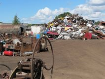 Scrap metal Royalty Free Stock Photos