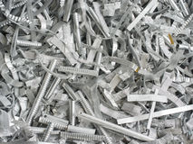 Scrap metal aluminum Royalty Free Stock Photography