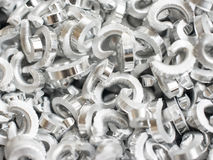 Scrap metal aluminum Stock Photography