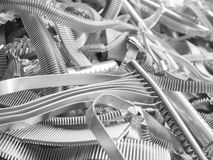 Scrap metal aluminum Royalty Free Stock Photo