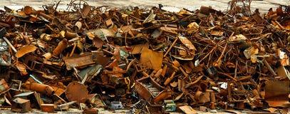 Scrap metal. Royalty Free Stock Photography