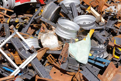 Scrap metal Royalty Free Stock Photo