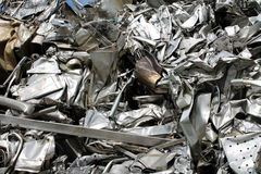 Scrap metal. Fun background with scrap metal royalty free stock image