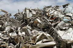 Scrap metal. Fun background with scrap metal stock photos