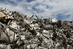 Scrap metal Stock Image