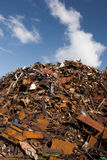 Scrap metal heap Royalty Free Stock Photography