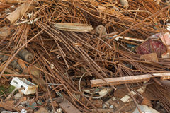 Scrap metal heap Stock Photography