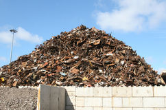 Scrap Metal Pile Royalty Free Stock Photography