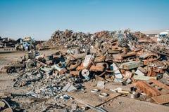 Scrap metal Royalty Free Stock Photos