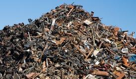 Scrap Metal Heep Royalty Free Stock Photos