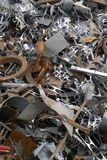 Scrap metal for recycling Stock Photo
