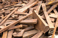 Scrap metal Royalty Free Stock Photography