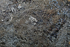 Scrap Metal Shavings Royalty Free Stock Photos