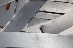 Scrap metal sheet Royalty Free Stock Images