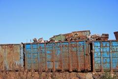Scrap metal yard Royalty Free Stock Photo