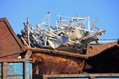 Scrap metal yard Stock Photography