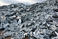 Scrap metal Royalty Free Stock Image