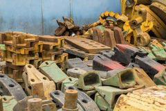 Scrap metals Stock Photography