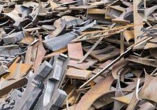 Scrap metals Stock Images