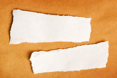 Scrap paper as copy space Royalty Free Stock Photography