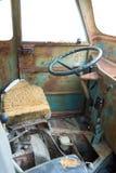 Scrap vehicle interior Stock Photo