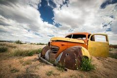 Scrap vintage car Royalty Free Stock Image
