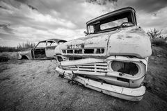 A scrap vintage car Royalty Free Stock Photo