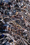 Scrap wire Royalty Free Stock Images