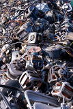 Scrap wire and motors Stock Photo