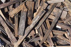 Scrap wood Stock Photography