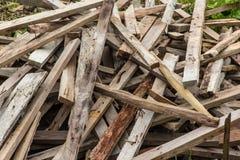 Scrap wood Stock Images