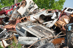 Scrap yard 01 Stock Photo
