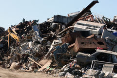 Scrap yard Royalty Free Stock Photography