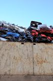 Scrap yard Royalty Free Stock Photos
